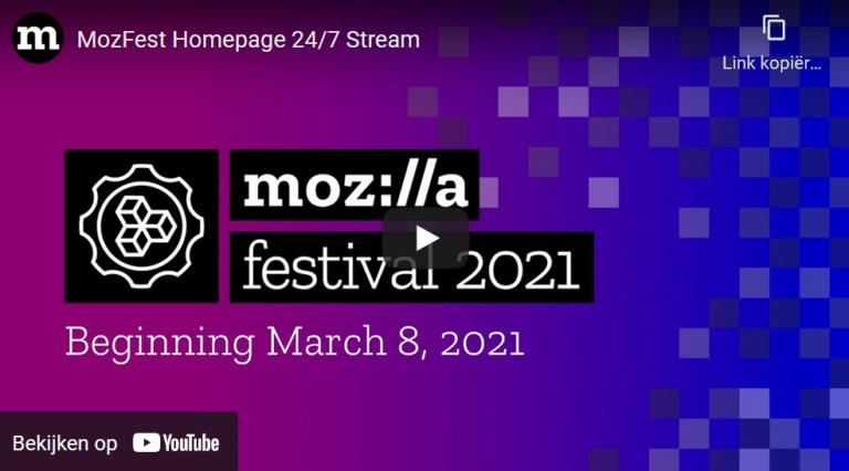 Mozilla Festival 2021